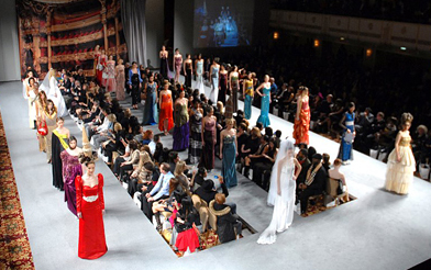 Andres Aquino Fashion Show at Couture Fashion Week NY