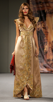 Mon Amour collection by Andres Aquino at Couture Fashion Week New York