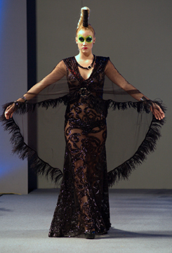 Catalin Botezatu Fashion Show at Couture Fashion Week NY