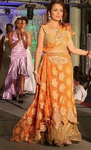 Juhi Jagiasi Fashion Show at Couture Fashion Week NY