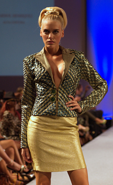 Marisol Henriquez fashion show at Couture Fashion Week New York