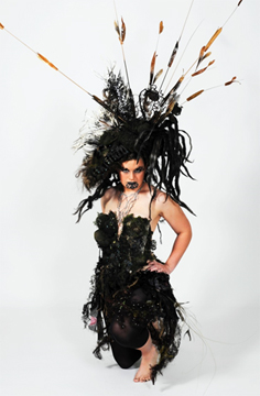 New Zealand Hat and Hair Art show at Couture Fashion Week NY