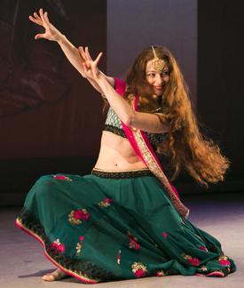 Dancer Julia Kulakova