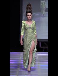 Andres Aquino Mujer Bonita fashion show at Couture Fashion Week NY