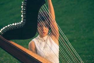 Harpist Arami