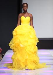 Azulant Akora Spring 2018 fashion show at Couture Fashion Week NY