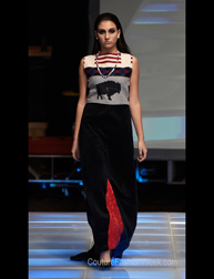 Belinda Bullshoe fashion show at Couture Fashion Week NY