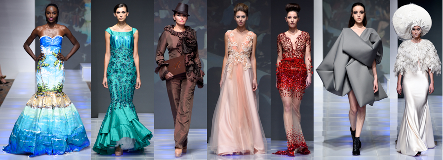 Designers show at couture fashion week new york for Nyu tisch fashion design