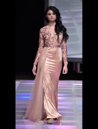Diana Mahrach fashion show at Couture Fashion Week NY