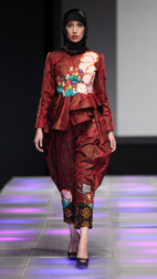Dwika Spring 2018 fashion show at Couture Fashion Week NY