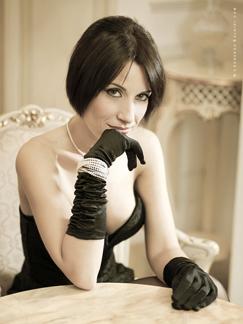 Singer Elisabetta Russo