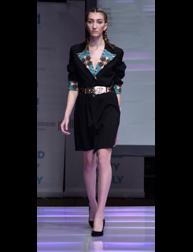Siwinikan by Farrah Sugar fashion show at Couture Fashion Week NY