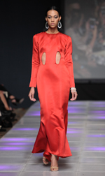 Felisha Dee Bullock Spring 2018 fashion show at Couture Fashion Week NY