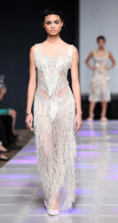 Grayling Purnell Spring 2018 fashion show at Couture Fashion Week NY