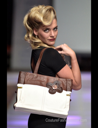 IHLE Bags fashion show at Couture Fashion Week NY