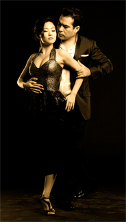 Tango Dancers Jose Delgadillo and Helen Wang