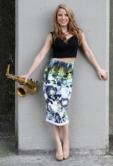 Saxophonist Karla Sax