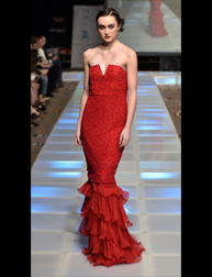 Laura Moss fashion show at Couture Fashion Week NY