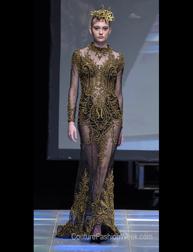 Meggie Hadiyanto Fall 2017 fashion show at Couture Fashion Week NY