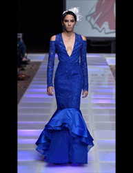 Olga Alicea and Hector Musse fashion show at Couture Fashion Week NY