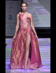 Rose Sharifi fashion show at Couture Fashion Week NY
