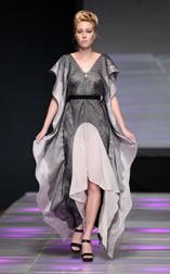 Veronika Kopalova Spring 2018 fashion show at Couture Fashion Week NY