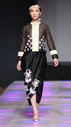 Yurita Puji Spring 2018 fashion show at Couture Fashion Week NY