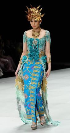 Asri Welas fashion show at Couture Fahion Week NY