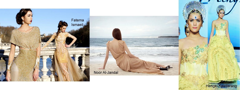 Designers to show at Cannes Fashion Festival May 2015: Fatema Ismaeil, Noor Al-Jandal, Hengki Kawilarang