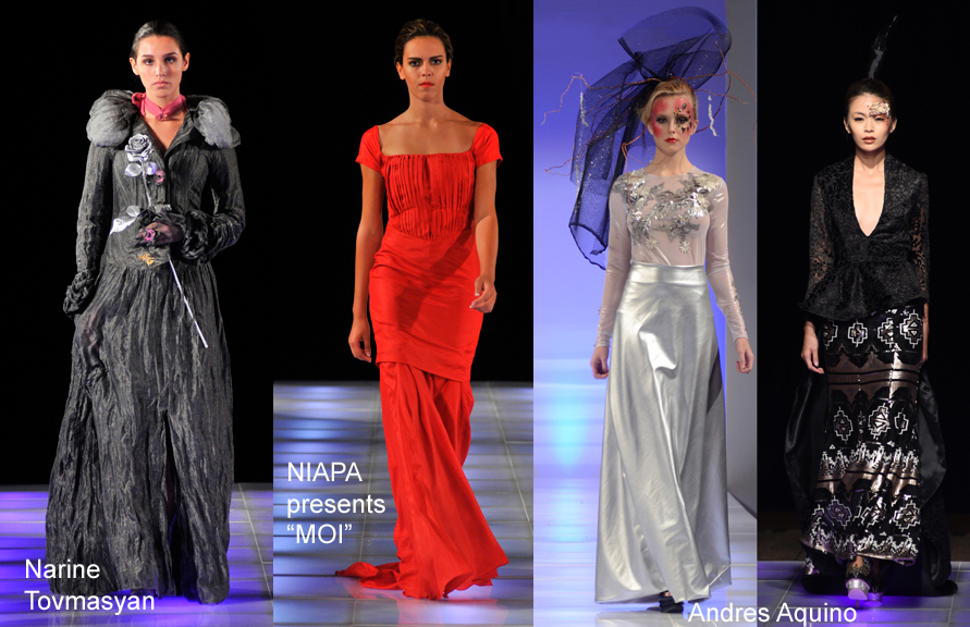 "Designers to show at Cannes Fashion Festival May 2015: Narine Tovmasyan, NIAPA presents ""MOI"", Andres Aquino"