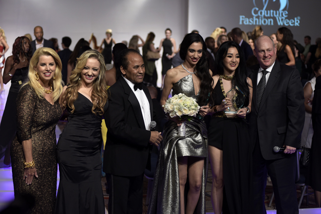 Global Fashion Avenue Awards at Couture Fashion Week NY