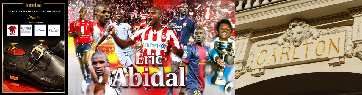 Footballer Eric Abidal to attend the Global Short Film Awards gala in Cannes, France