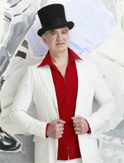 Kevin Berlin New York Top Hats to be shown with the Andres Aquino collection at the GSF Awards gala in Cannes, France.