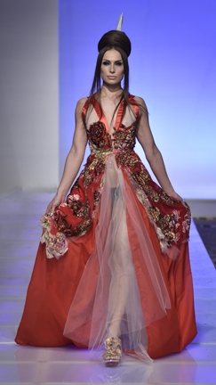 Artist Designer Alexandra Popoescu-York fashion show at Couture Fashion Week New York