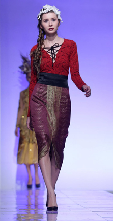 Vanny Tousignant fashion show at Couture Fashion Week NY