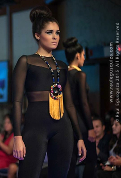 Accessories by Teresita Rodriguez Tanon at Couture Fashion Week NY