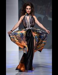 Alexandra Popescu York Spring 2017 fashion show at Couture Fashion Week NY