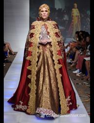 Anniesa Hasibuan Spring 2017 selected designs fashion show at Couture Fashion Week NY