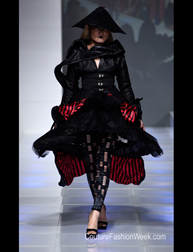 Dauphine of France by Chandra Peyton Spring 2017 fashion show at Couture Fashion Week NY