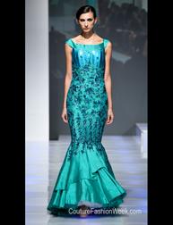 Karishma Sondhi Spring 2017 fashion show at Couture Fashion Week NY