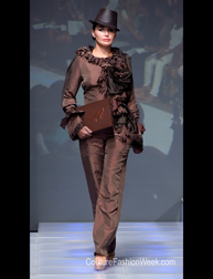 Narine Tovmasyan Spring 2017 fashion show at Couture Fashion Week NY