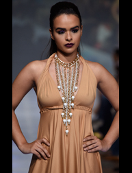 "Ozuna and Teresita Tanon present ""Freedom"" accessories fashion show at Couture Fashion Week NY"
