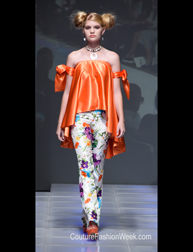 UpScales Fashions 43 by Evelyn Johnson Spring 2017 fashion show at Couture Fashion Week NY