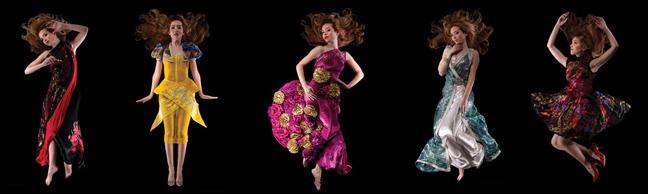 Houda El Fechka Eddiouane fashion show at Couture Fashion Week NY