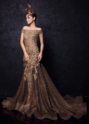 Meggie Hadiyanto fashion show at Couture Fashion Week NY