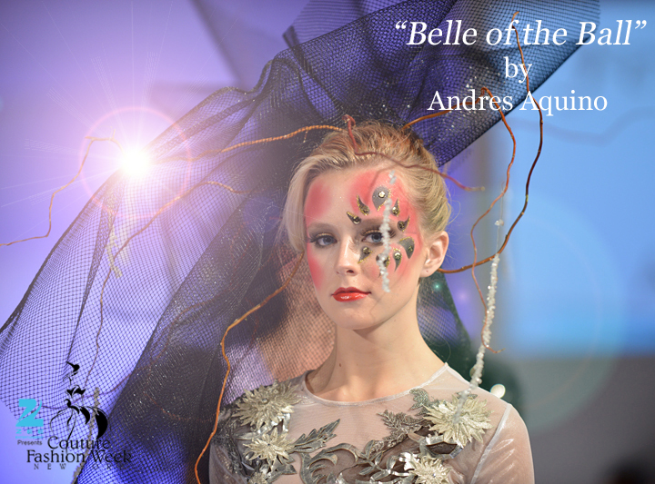 Belle of the Ball by Andres Aquino at Couture Fashion Week