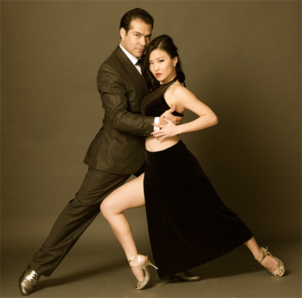 Jose Delgadillo and Helen Wang, Argentine Tango dancers