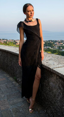 Tjasa Skapin fashion show at the Cannes Fashion and Global Short Film Awards