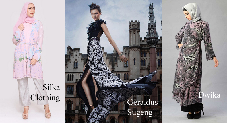 Wonderful Indonesia with Kriya designers Geraldus Sugeng, Dwika and Silka Mitrasari fashion show at Couture Fashion Week NY