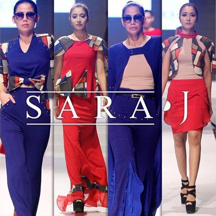 Sara Jamaludin fashion show at Couture Fashion Week NY